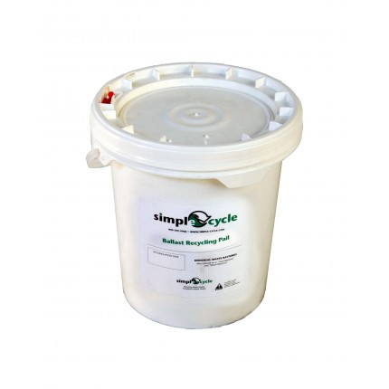 5 GALLON LAMP BALLAST RECYCLING PAIL